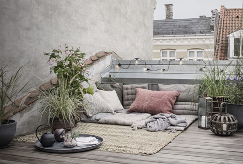 Terraces & balconies: Little spaces, great ideas