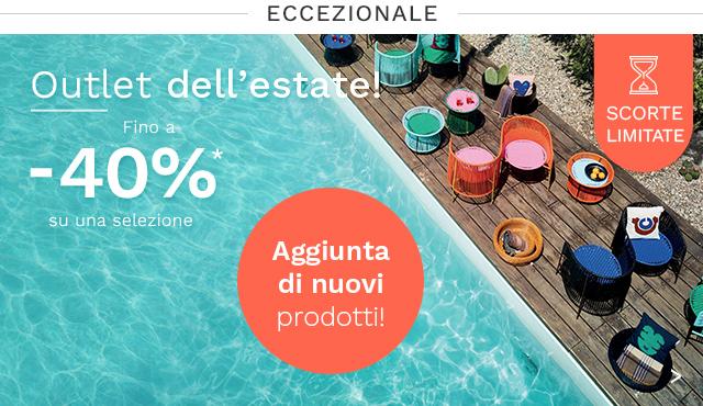 Outlet Arredi fino -40% su madeindesign