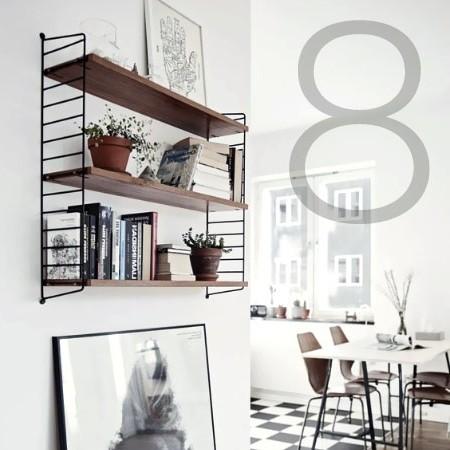 The String Pocket shelf by String Furniture