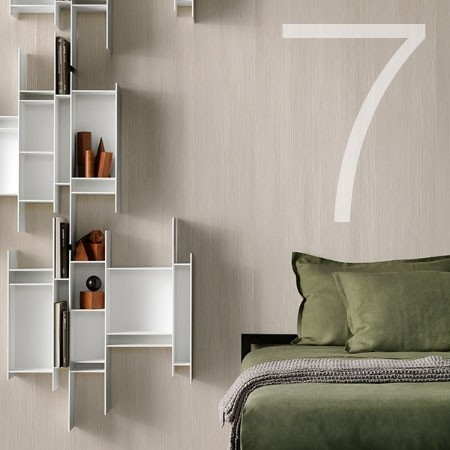 The Randomito shelf by MDF Italia