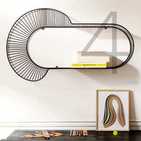 The Loop shelf by Petite Friture
