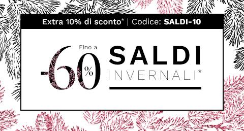Saldi invernali Made In Design fino a -60%*