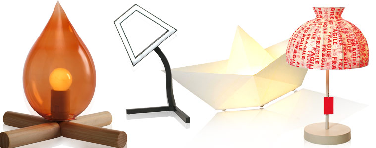 TAPE LAMP By Sylvia Pichler, 2D LED By Ding 3000, SAILY By Pagani Perversi