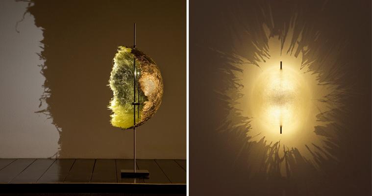 Made in design mobilier contemporain luminaire et d coration tendance pour - Lampe fibre de verre ...