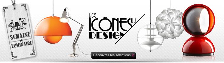 Les icônes du design - Découvrez les sélections