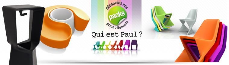 Packs promotionnels Qui est Paul