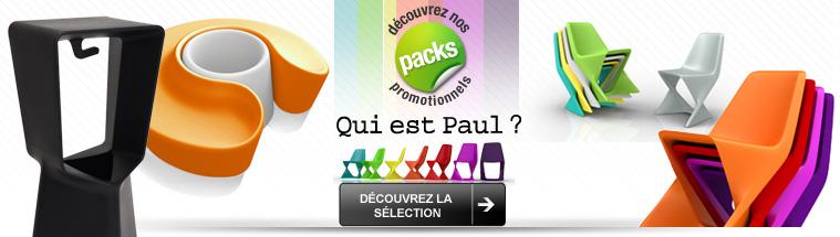 Découvrez les packs «Qui est Paul?»