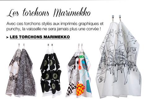 Les torchons Marimekko