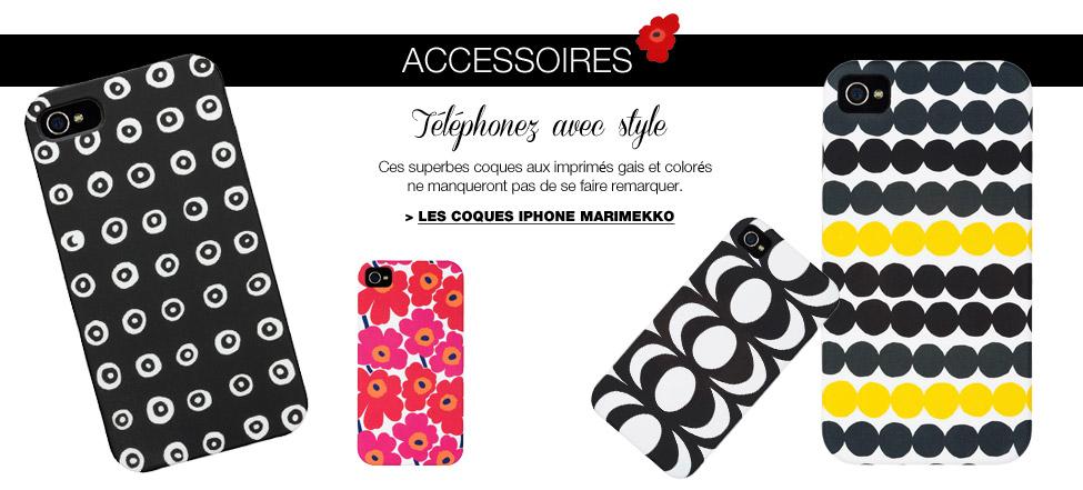 Les coques iPhone Marimekko