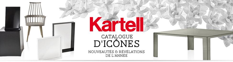 Kartell : Catalogue d'icônes