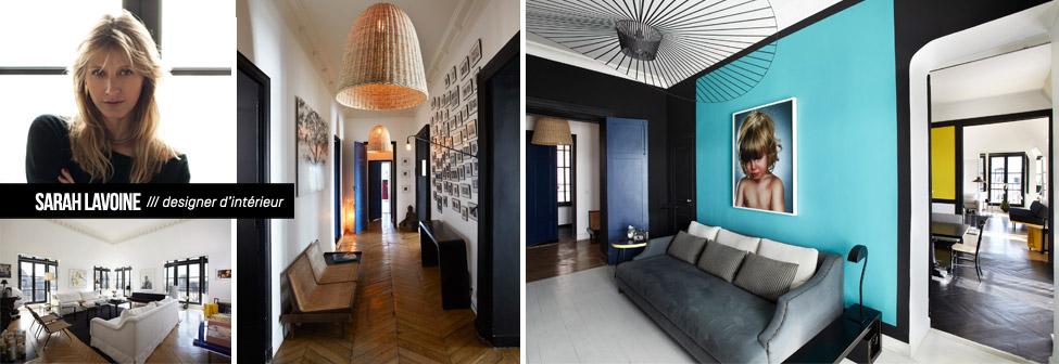 Made in design mobilier contemporain luminaire et for Sarah lavoine decoration