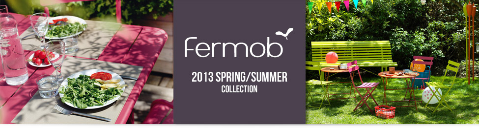 Fermob - 2013 spring/summer collection