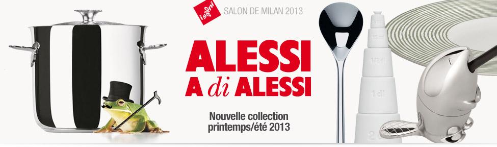 Alessi : Nouvelle collection printemps/été 2013
