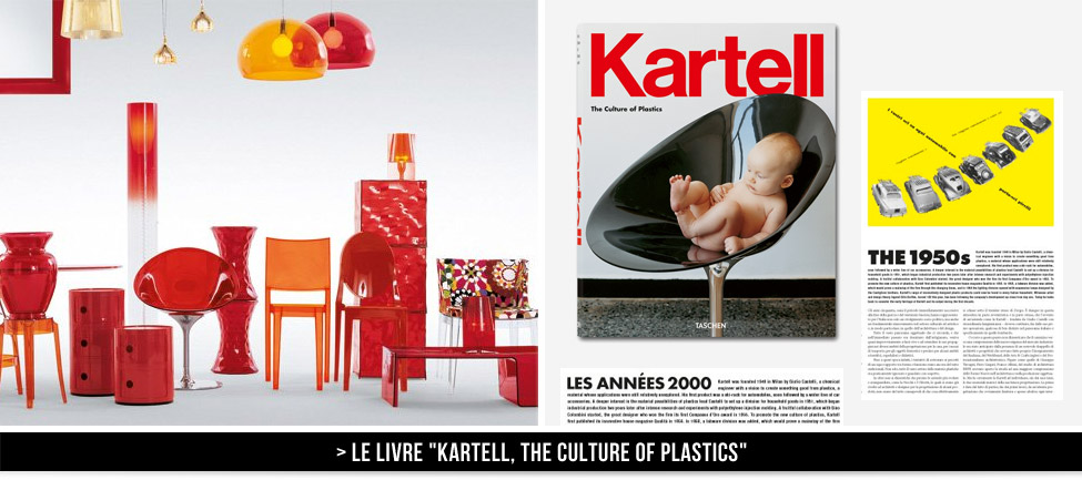Kartell rocks ! The culture of plastics