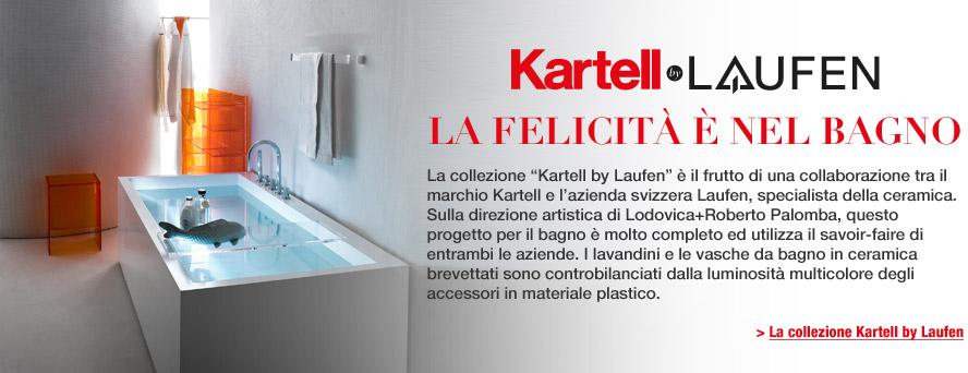 Kartell Laufen: La felicita\' e\' nel bagno
