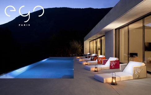 mobilier extérieur ego : tables, poufs, fauteuils de jardin | made ... - Meuble Exterieur Design
