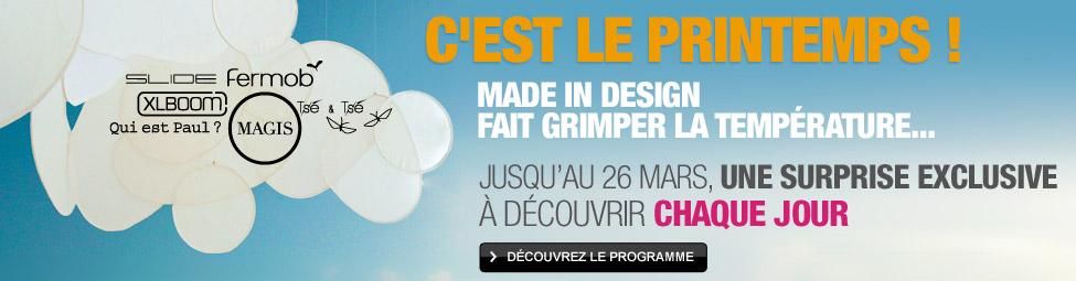 Offre exceptionnelle un arrosoir ohlala collector offert - Semaine du mobilier chez made in design jusqua ...